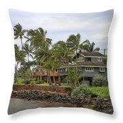Kauai Hawaii Usa Throw Pillow
