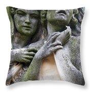 Kerepesi Cemetery, Budapest Throw Pillow