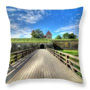 Kuressare, Estonia Throw Pillow