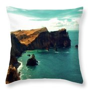 Landscape Fine Art Throw Pillow