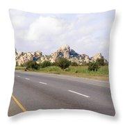 Landscape In Tanzania Throw Pillow