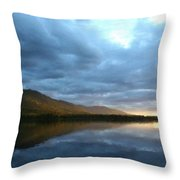 Landscape Portrait Throw Pillow