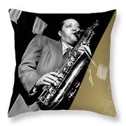 Lester Young Collection Throw Pillow