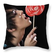 Lollypop Throw Pillow