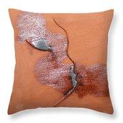 Loss - Tile Throw Pillow