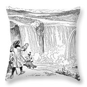 Louis Hennepin (1640-1701) Throw Pillow