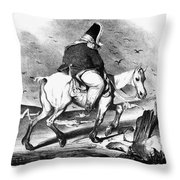 Louis Philippe (1773-1850) Throw Pillow