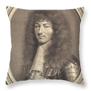 Louis Xiv Throw Pillow