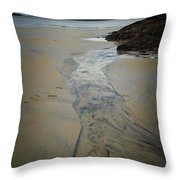 Luskentyre, Isle Of Harris Throw Pillow