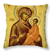 Madonna Art Throw Pillow