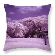 Magic Garden  Throw Pillow