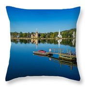 Mahone Bay Throw Pillow