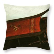 Mais Ou Sont Les Neiges D'antan Throw Pillow