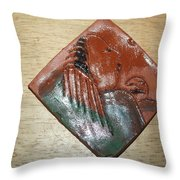 Mama - Tile Throw Pillow