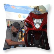 Man Cup 08 2016  Throw Pillow
