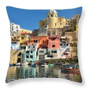 Marina Corricella Throw Pillow