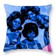 Martha And The Vandellas Collection Throw Pillow