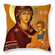 Mary Saint Art Throw Pillow