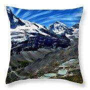 Matterhorn Panorama Throw Pillow