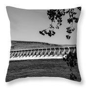 Mcnary Dam Throw Pillow
