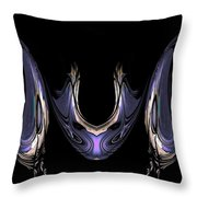 Medallion And Earrings Throw Pillow