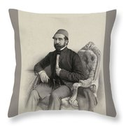 Mehmed Cemil Bey Throw Pillow
