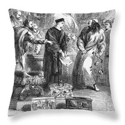 Merchant Of Venice Throw Pillow