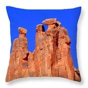Moab Landscape Throw Pillow