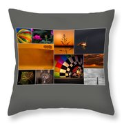 Moments In Time Throw Pillow