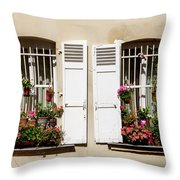 Montmarte Paris Throw Pillow
