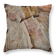 Morning In Valley Of Fire State Park Throw Pillow