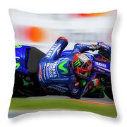 Motogp Throw Pillow