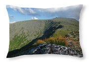 Mount Washington - New Hampshire White Mountains Throw Pillow