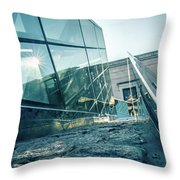National Museum Of Art In Washington District Of Columbia Throw Pillow
