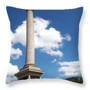 Nelsons Column Throw Pillow