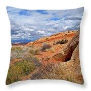 Nevada Desert Throw Pillow