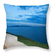 Night Is Near Throw Pillow