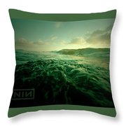 Nine Inch Nails Throw Pillow