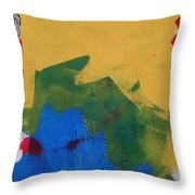 No Name Throw Pillow