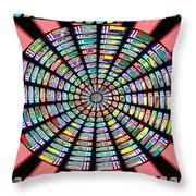 Novino Sale Fineart Chakra Mandala Round Circle Inspirational Healing Art At Fineartamerica.com By N Throw Pillow