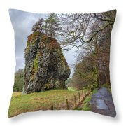 Oban - Scotland Throw Pillow