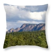 Oil Paintings Art Landscape Throw Pillow