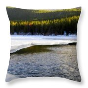On Nature Throw Pillow