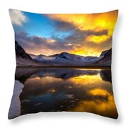 Original Landscape Paintings Throw Pillow