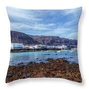 Orzola - Lanzarote Throw Pillow