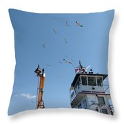Outer Banks Nc Throw Pillow