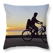 Paqueta Island, Brazil Throw Pillow