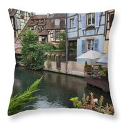 Petite Venise Colmar Throw Pillow