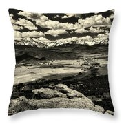 Pleasant Valley Colorado Throw Pillow