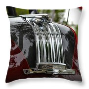 Pontiac Chief Throw Pillow